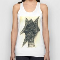 faces Tank Tops featuring Faces by Attila Hegedus