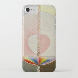 """Hilma af Klint """"The Dove, No. 01, Group IX-UW, No. 25"""" iPhone Case"""