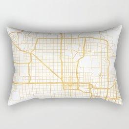 PHOENIX ARIZONA CITY STREET MAP ART Rectangular Pillow