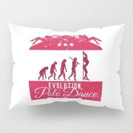 Evolution Pole Dance Pillow Sham