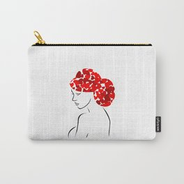 Love in my hair Carry-All Pouch