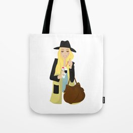 Ice cream girl Tote Bag
