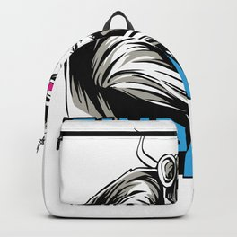 Ginpanse Gin Alcohol Design Backpack