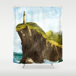 At the End of the Earth Shower Curtain