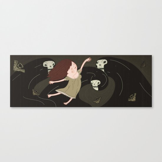 the black forest No.3 Canvas Print