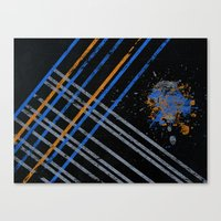 grid Canvas Prints featuring Grid by Last Call