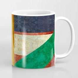 New age Totem poles pattern Coffee Mug