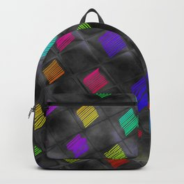 Square Color Backpack