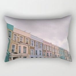 Colourful houses in Notting Hill, London Rectangular Pillow