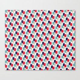 Geometrix / Winter Canvas Print