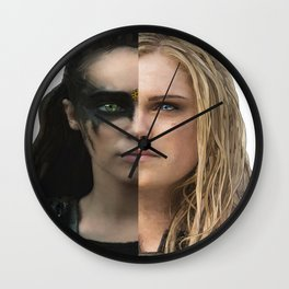 Two Bodies, One Soul Wall Clock
