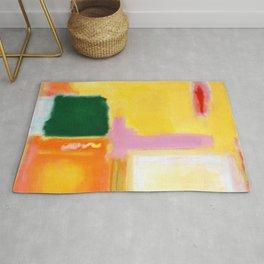 Mark Rothko - No 16 / No 12 (Mauve Intersection) Artwork Rug