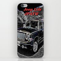jeep iPhone & iPod Skins featuring JEEP JPATW by Dmarmol