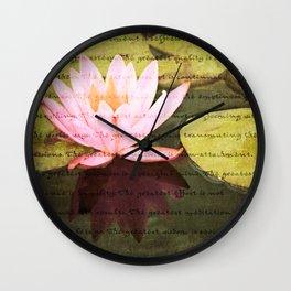 Dharma Wall Clock