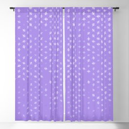 leo zodiac sign pattern pu Blackout Curtain