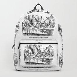 "John Tenniel, "" Alice's Adventures in Wonderland "" Backpack"