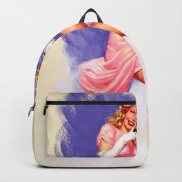 Vintage Lady Backpack
