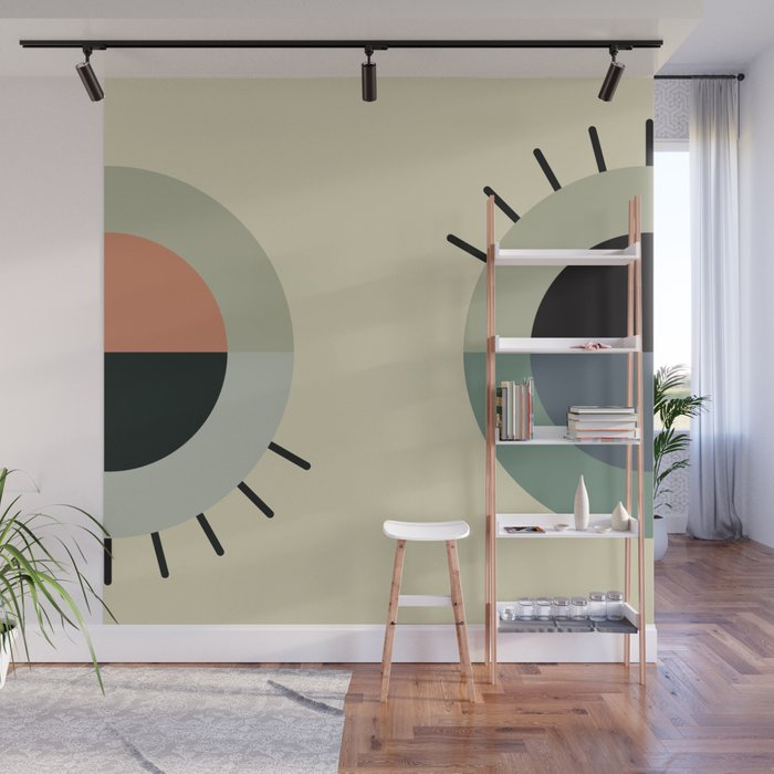day eye night eye Wall Mural