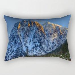 Hidden Mountain Rectangular Pillow