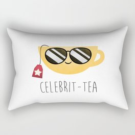 Celebrit-tea Rectangular Pillow