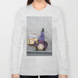 Purple Pants Long Sleeve T-shirt