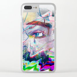 Private eyes Clear iPhone Case