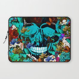 SUGAR SKULL AND HAPPINESS Laptop Sleeve