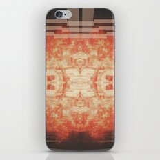 Fire Ball Feeling iPhone & iPod Skin