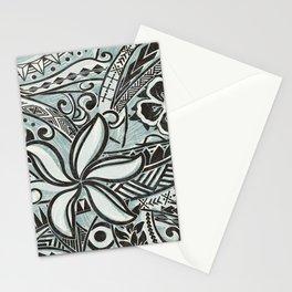 Hawaiian Slate Ocean Spray Print Stationery Cards