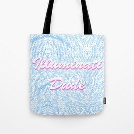 Illuminati Dude  Δ Tote Bag