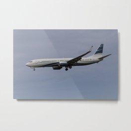Boeing 737 Private Jet Metal Print
