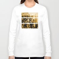 chicago Long Sleeve T-shirts featuring Chicago by DM Davis