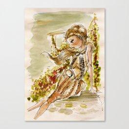 Mon Jardin-(Bora Aksu) Canvas Print