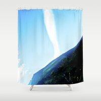 rare Shower Curtains featuring Rare cloud. by Alejandra Triana Muñoz (Alejandra Sweet