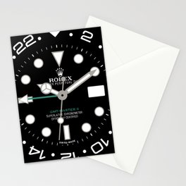 Rolex GMT-Master II Face - 116710LN - Black Dial Stationery Cards