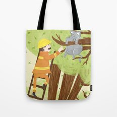 Hippocatomus Tote Bag