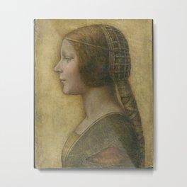 Da Vinci Art Print Metal Print
