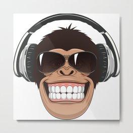 gorilla songs Metal Print