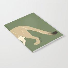 Carnivores of World: Cougar Pum(a) (c) 2017 Notebook