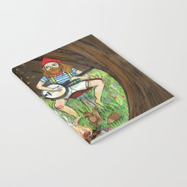 Gnome place like home Notebook