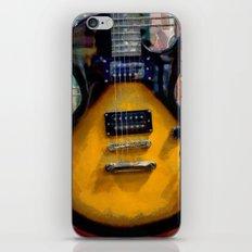 Guitar No. 3 iPhone & iPod Skin