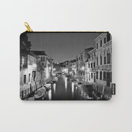 Venitian Canal. Santa Croce, Venice, Italy Carry-All Pouch