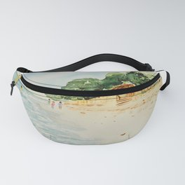 Philippines Beach Watercolor Fanny Pack
