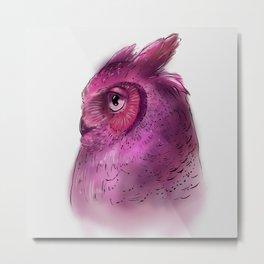Owl I Metal Print