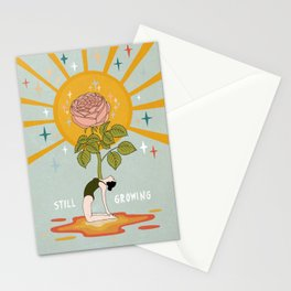 Still growing Stationery Cards