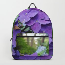 Hydrangeas are my favorite Backpack