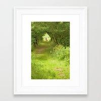 best friends Framed Art Prints featuring Best Friends by CreativeByDesign
