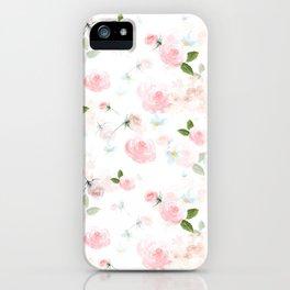 Blush Florals iPhone Case