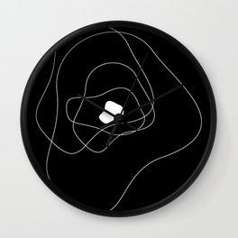 Abstract Infinite v. Black Wall Clock