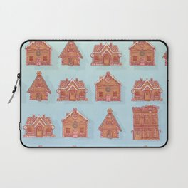 Gingerbread house pattern (V2) Laptop Sleeve